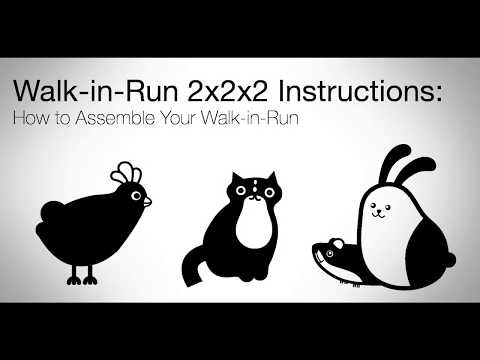 How to build an Omlet Walk In Run 2x2x2