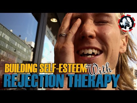 Cold Approaching cute girl & asking for phone number - Rejection Therapy to build Self- Esteem Week7