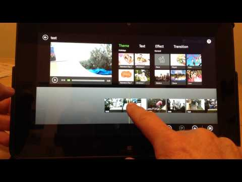 How To Edit Video On A Microsoft Tablet
