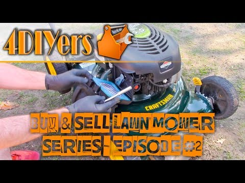 Buy & Sell Lawn Mowers - How to Clean a Carburetor