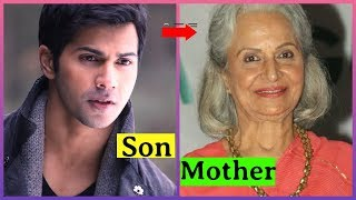 Bollywood Actors And Their Mother
