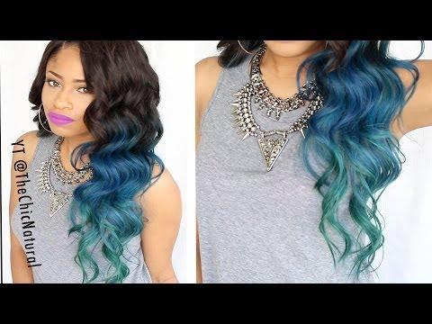 HOW TO: Mermaid Hair Color DIY!