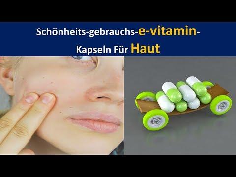 Schönheit Nutzen Vitamin E Kapseln für die Haut | Fades Narben. & Kämpfe Falten