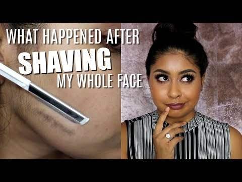 UPDATE ON SHAVING MY FACE & MY LASER HAIR REMOVAL | Addressing Myths, Comments & Aftermath