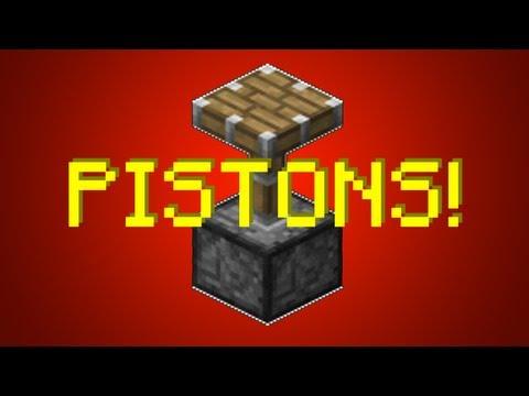 Minecraft 1.8: Simple Piston Elevator [TUTORIAL]