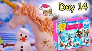 Playmobil Holiday Christmas Advent Calendar Day 14 Cookie Swirl C Toy Surprise Video