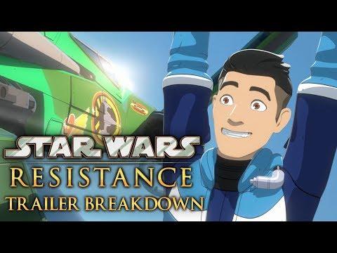 Star Wars Resistance Trailer Breakdown & Analysis