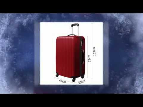 3 Pcs Hard Shell Travel Luggage Set