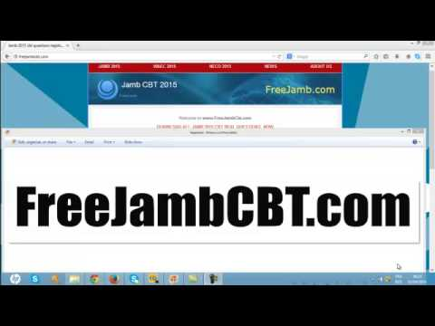 jamb cbt all types 2015-2016 now free
