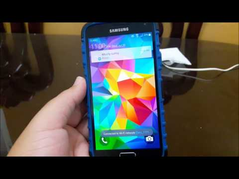 T-Mobile Samsung Galaxy S5 Software Update (New)