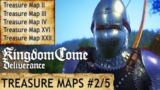 Kingdom Come Deliverance Uralte Karte 2.Kingdom Come Schatzkarte 2 Fundort Treasure Ii Location