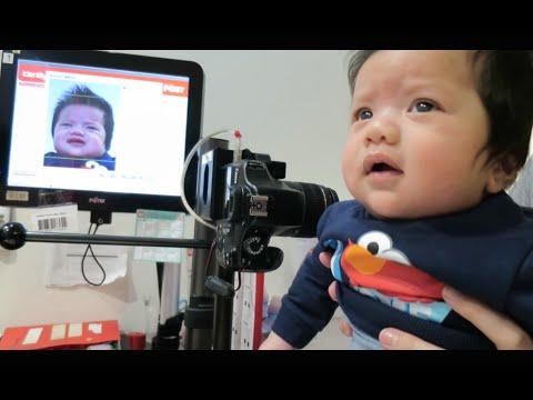 BABY'S PASSPORT PHOTOS!! VLOG 80