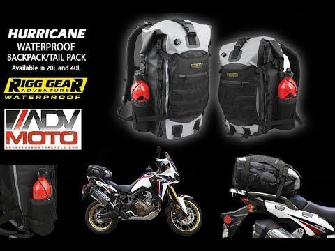 Rigg Gear Hurricane Waterproof Backpack/Tail Bag