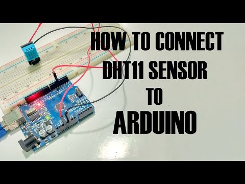 How to Setup the DHT11 Humidity and Temperature Sensor on an Arduino