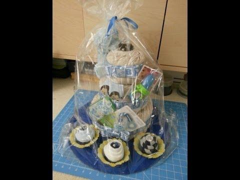 DIY: Baby Shower Diaper Cake