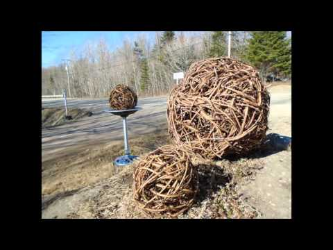 Ball natural decorative vine indoor and outdoor decoration