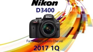 4 Cameras Need To KNOW Before Buying Nikon D3400 in 2017 1Q