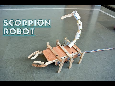 How to Make Scorpion Robot Toy - at Home