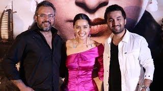 Haseena Parkar Official Trailer Launch- Shraddha Kapoor, Siddhanth Kapoor And Apoorva Lakhia