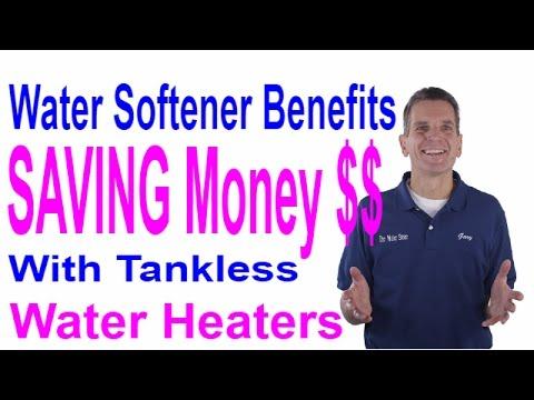Water Softener Benefits Saving Money $$ with Tankless Water Heater - Midland, Ontario