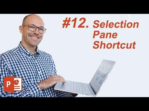 #12: The Selection Pane Shortcut (Microsoft PowerPoint Shortcuts)