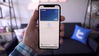 Using Apple Pay on iPhone X