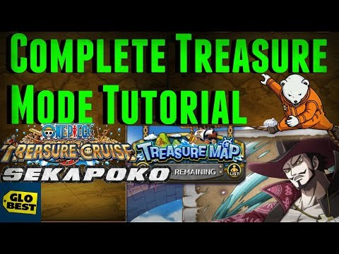 Complete Treasure Map / Mode Tutorial For Beginners (Global) | One Piece Treasure Cruise