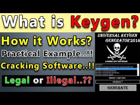 What is Keygen? How It Works? Practical Example | Cracking Software | Software Registration