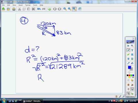 Adding Right Angle Vectors p4
