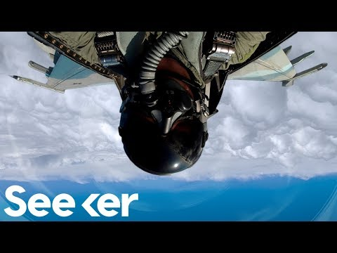 How Planes Are Engineered to Fly Upside-Down