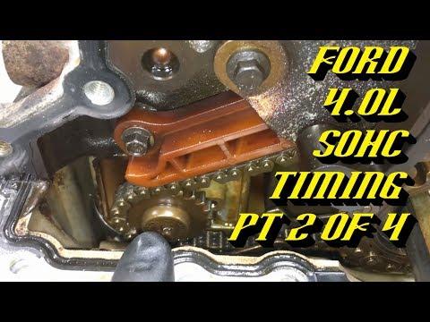 Ford Explorer Ranger 4.0L SOHC Startup Rattle Fix: Timing Walkthrough Pt 2 of 4 Engine Teardown