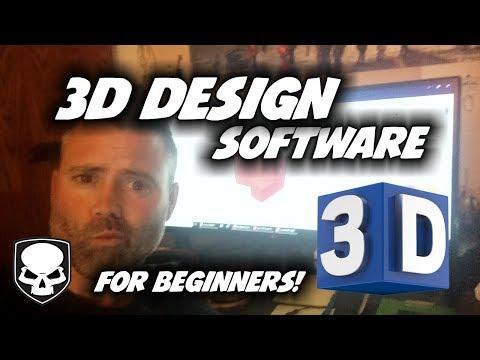 3D Design Software for Beginners - 2018 - Top 3 Programs