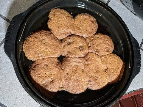 Chocolate Chip Cookies, NuWave Oven Recipe (No Venting Required)