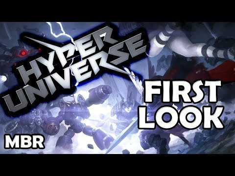 Hyper Universe (MOBA) | First Impressions | Admiral Gameplay