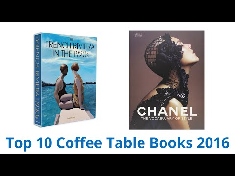 10 Best Coffee Table Books 2016