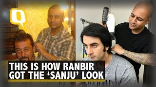 Hairstylist Aalim Tells Us How Ranbir Grew His Hair for 'Sanju'