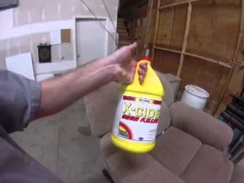 Upholstery cleaning - Smelly dog chair - Part 2