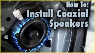 How To Install Coaxial Car Speakers Aftermarket Speakers In A Scion T
