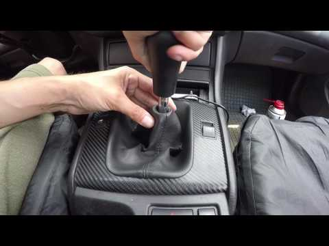 How To Remove and Install BMW E46 Manual Transmission Shift Knob