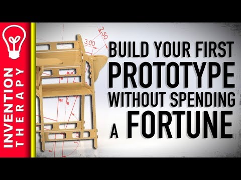 How to Design and Build a Prototype Of Your Invention Product Idea In Your Workshop - Part 1