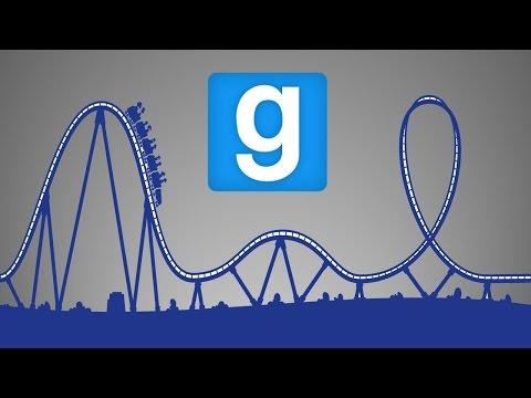 Gmod ( Roller Coaster )