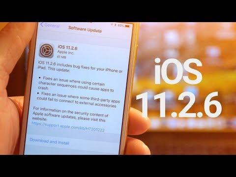 iOS 11.2.6 Update: What's New? (Telugu Fix)