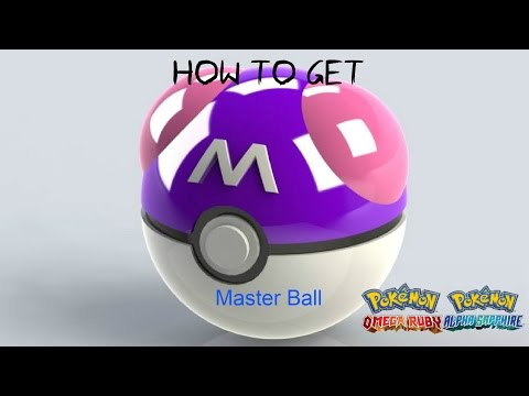 How to get a master ball in Pokemon Omega Ruby & Alpha Sapphire