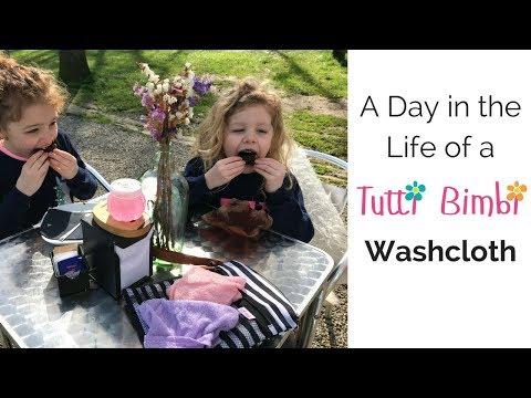 A Day in the Life of a Tutti Bimbi Washcloth