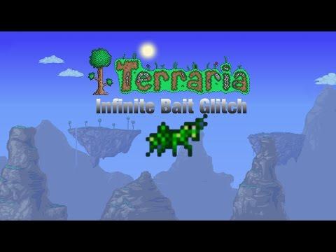Infinite Bait Glitch | Terraria IOS | Mobile