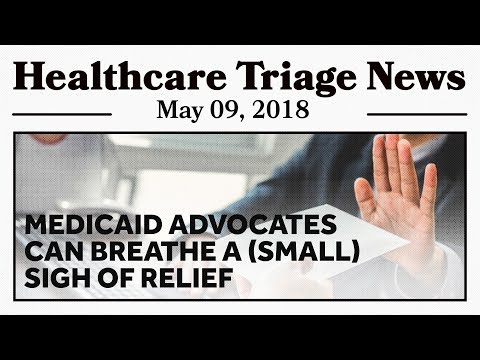 More Medicaid News, but This Time Its Not All Terrible!