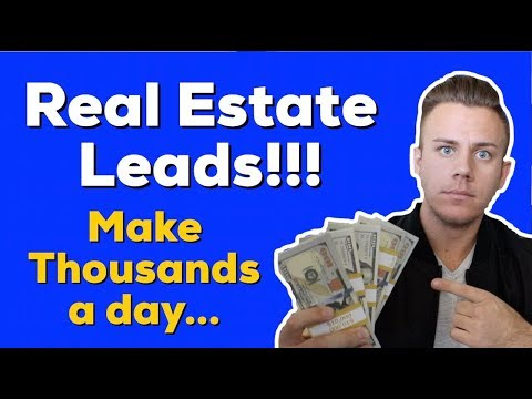 How I Generate Leads In My PERSONAL Real Estate Business!!