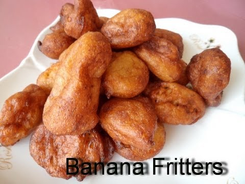 Banana fritters -African Food Recipes