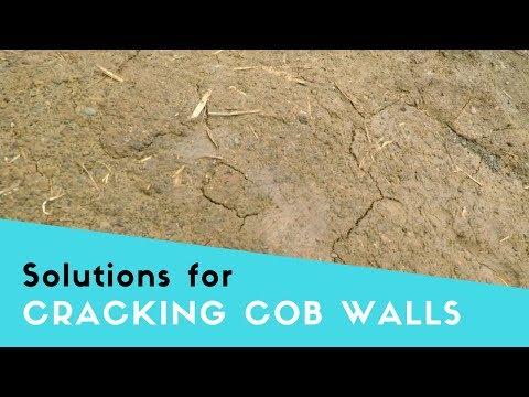 Cob Building - How to prevent cracking cob walls
