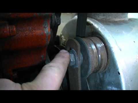 HOW TO Adjust The Belt Idler Pulley on an Older Craftsman Snowblower